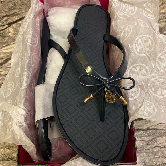 Tory Burch: Jelly Bow Thongs